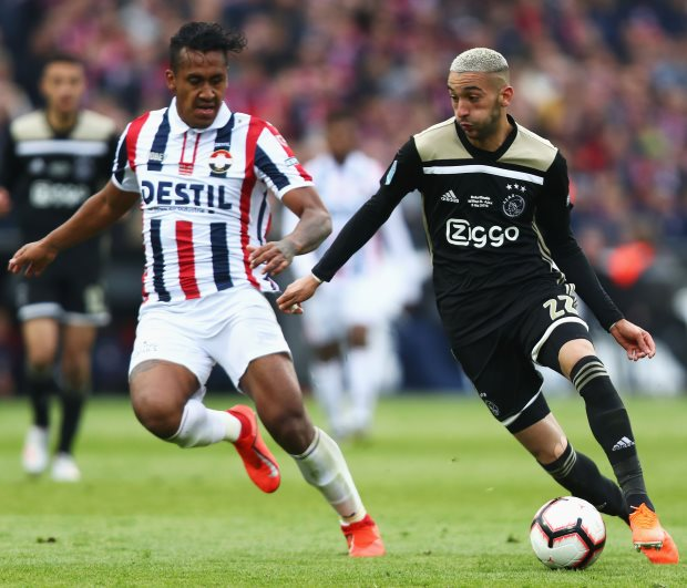 Bayern Munich turn attention to Hakim Ziyech