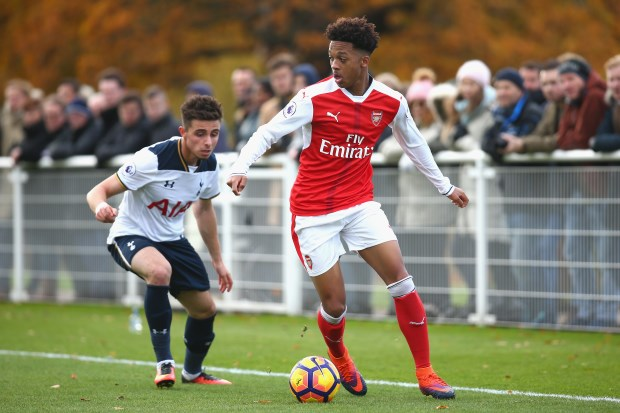 Arsenal Talent Chris Willock Set For Benfica Switch