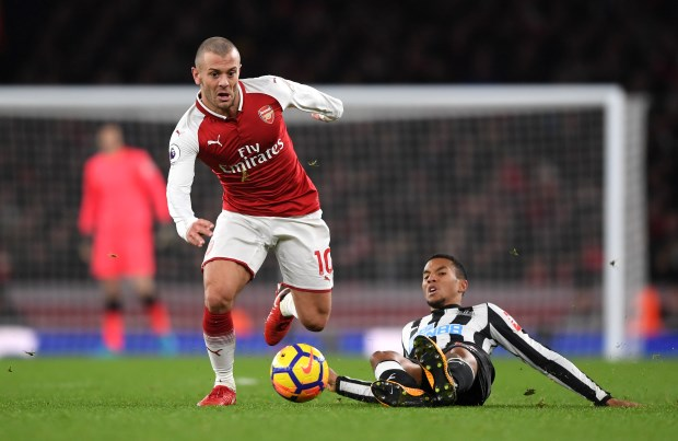West Ham Could Face Serie A Opposition For Jack Wilshere