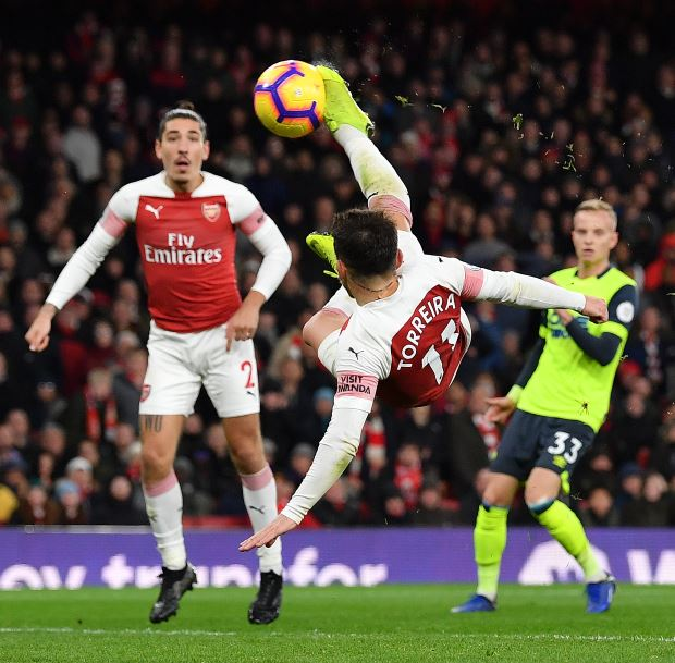 Mesut Ozil Responds To Arsenal Victory Over Huddersfield