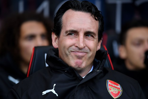 Unai Emery says Arsenal can finish in the Premier League top four
