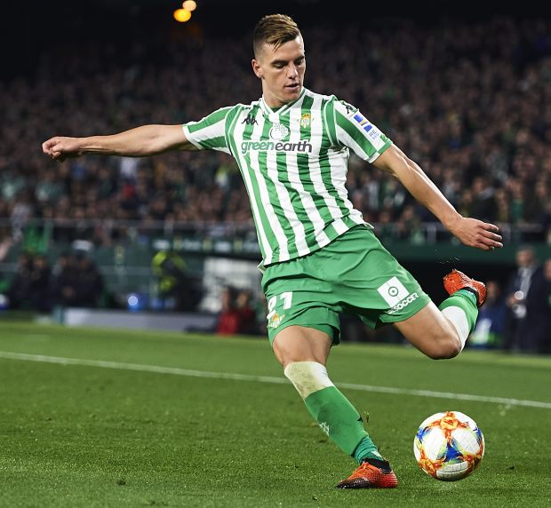 Giovani Lo Celso: Tottenham make a £53m bid for Real Betis midfielder