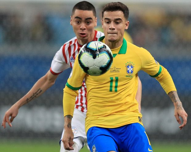 Philippe Coutinho close to Tottenham switch