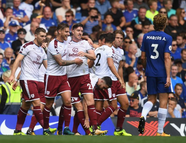 Burnley boss Sean Dyche praises players' mentality in 'deserved' win at Chelsea