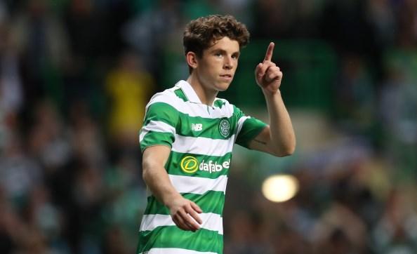 Celtic midfielder Ryan Christie joins Aberdeen on loan