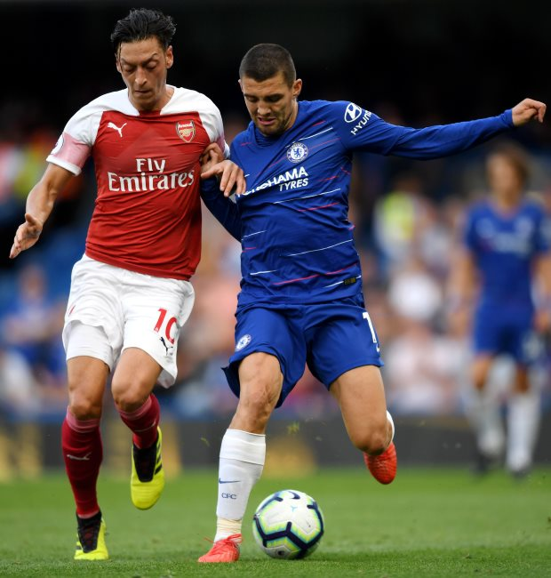 Chelsea 2 Arsenal 2 - Hazard and Kovacic on as Blues chase victor