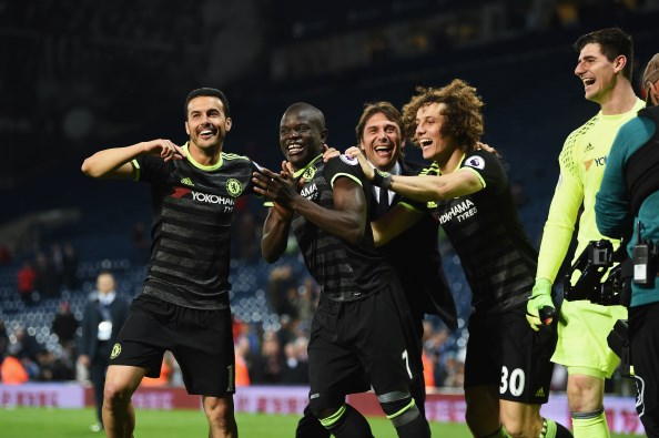 David Luiz revels in 'dream come true' as Chelsea celebrate title triumph