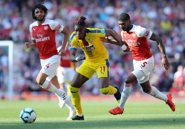 Transfer: Arsenal submit £40m offer for Crystal Palace's Zaha