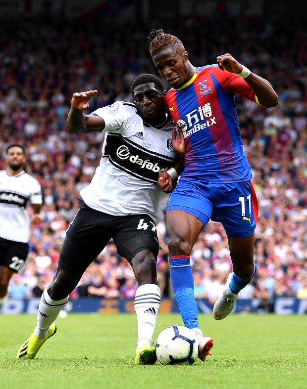 EPL: Wilfried Zaha speaks on Chelsea move