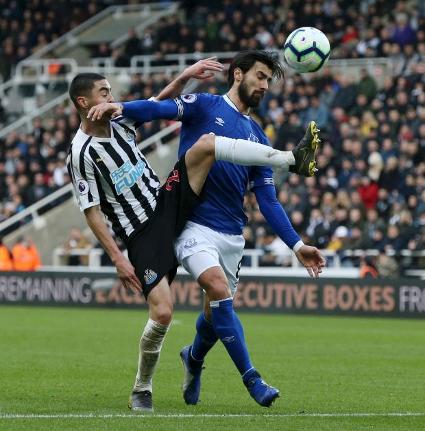 Newcastle United vs. Everton - Football Match Report