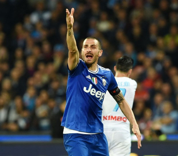 Soccer: Bonucci set for Milan move (5)