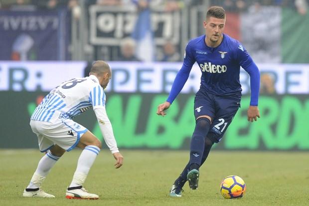 Milan sink Roma, Milinkovic-Savic inspires Lazio