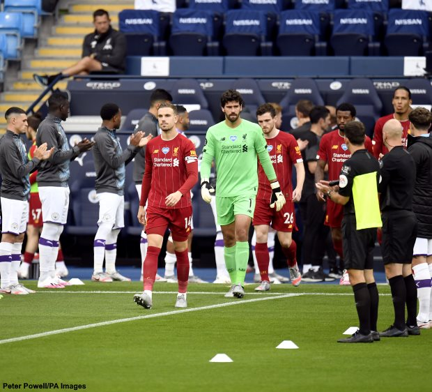 Liverpool Guard of Honour