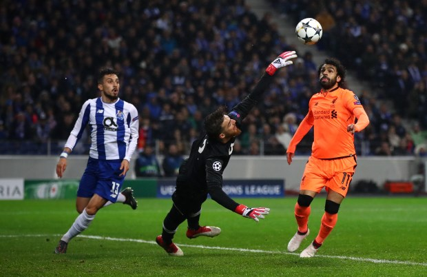 Mane hits treble as Liverpool rout Porto