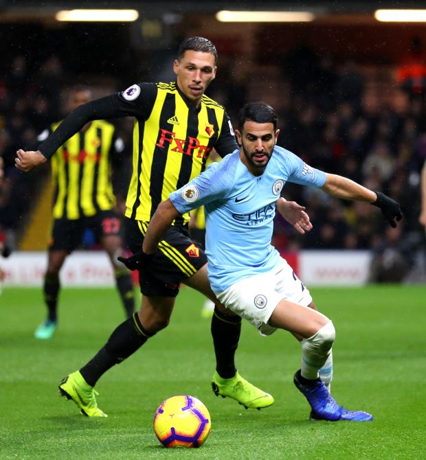 Understrength Manchester City racks up sixth straight win in EPL