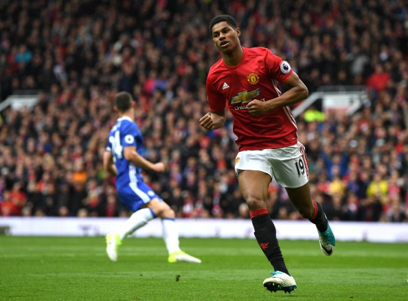 Manchester United 2 Chelsea 0: Mourinho's men blow title race wide open