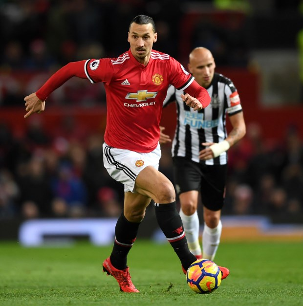 SPOTTED: What Ibrahimovic Said To Lukaku vs Newcastle