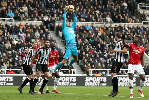 Newcastle United 1 Manchester United 0