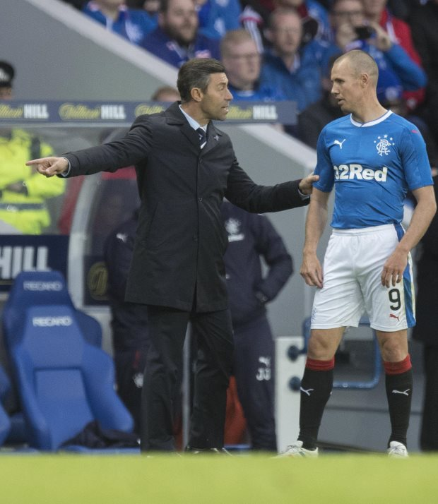 Rangers manager Pedro Caixinha: I don't know what 'pressure' means