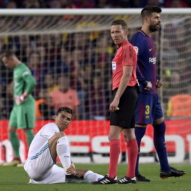 Cristiano Ronaldo Injury Fears Eased By Zidane After El Clasico Draw
