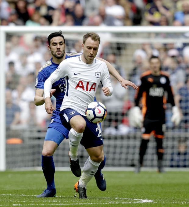 Harry Kane scores victor  as Tottenham edge nine-goal rollercoaster against Leicester