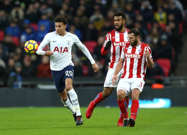 Tottenham Hotspur bury sorry Stoke as Son lights up freezing Wembley