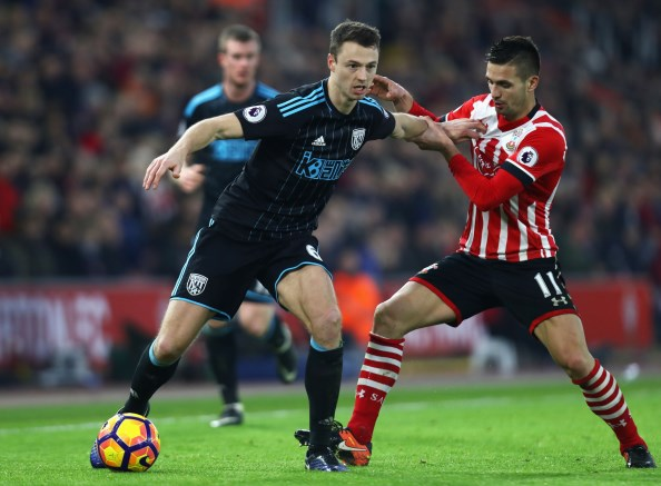 Manchester City identify West Brom's Jonny Evans as possible target