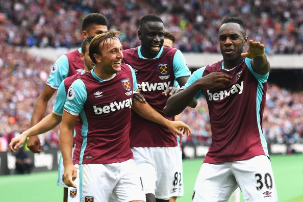 Antonio earns West Ham a late London Stadium victory