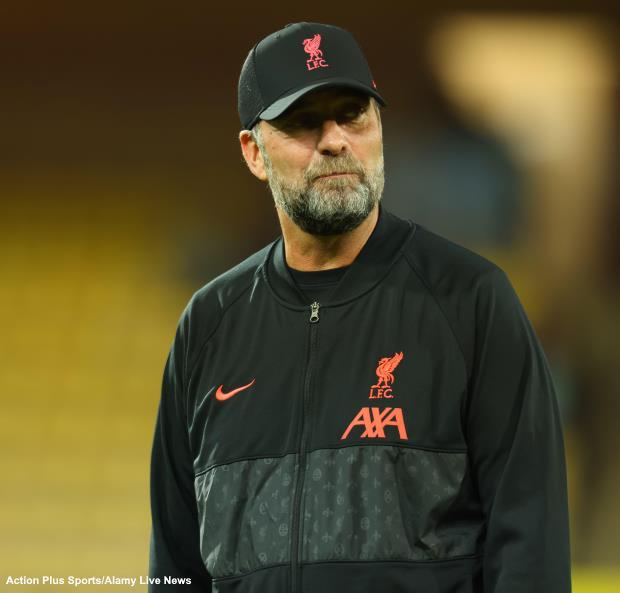 Liverpool Jurgen Klopp2 620 alamy
